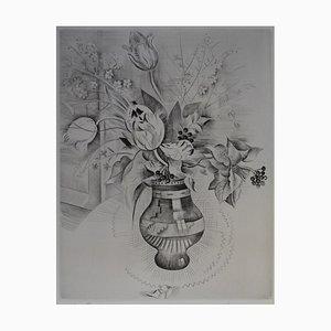 Le Bouquet Gravure by Mily Possoz