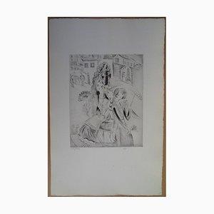 Trois élégantes Gravure by Mily Possoz