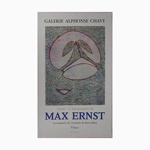 Festin 74 Lithographie von Max Ernst