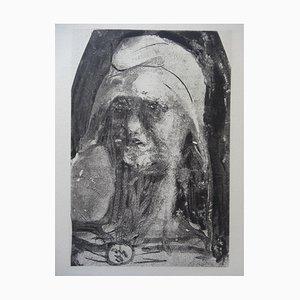 Stampa Liberty su carta velina di Auguste Rodin, 1897