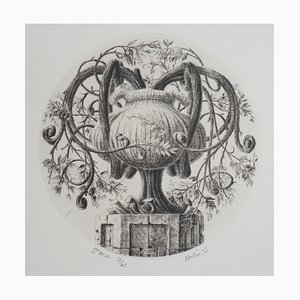 2nd Vase Gravure by François Houtin