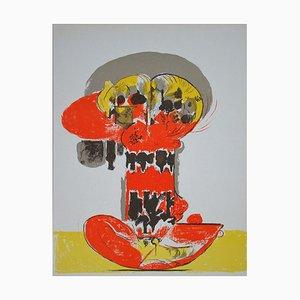 Litografia Composition for XXe Siècle di Graham Sutherland, 1972