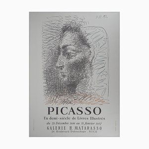 Woman in Profile Poster Reprint by Pablo Picasso