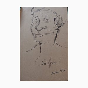 Le Frère Drawing by Georges Manzana-Pissarro