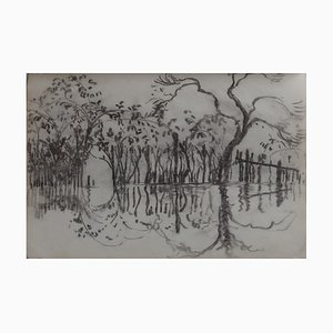 Georges MANZANA-PISSARRO - Landscapes, Original drawing