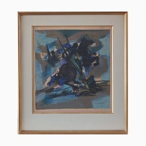 Saint George and the Dragon Lithograph by Marcel Mouly