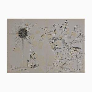 Sienne, Guido Riccio Servierwagen von Pierre-Yves Tremois
