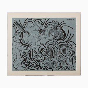 Picador Linocut by Pablo Picasso