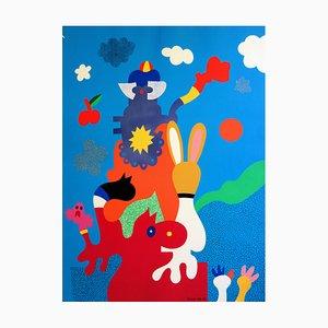 Serigrafia The Mascots di Otmar Alt, 1970