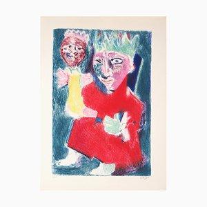 Le Roi et sa Marionnette Gravure by Bernard Lorjou