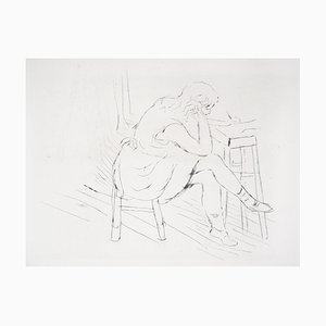 La Réflexion Gravure by Charles Camoin