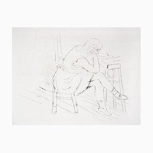 La Réflexion Tiefdruck von Charles Camoin