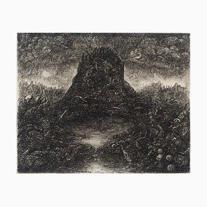 La Montagne éphémère Tiefdruck von Georges Rubel