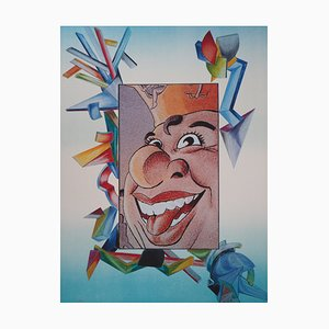 King of Laughter Lithograph by Jean-Claude Farhi