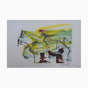 Le Cheval de Course Lithograph by Salvador Dali