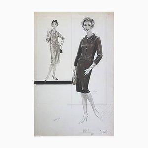 Disegno Tailleur Ouvert di Rosy Andreasi-Verdier