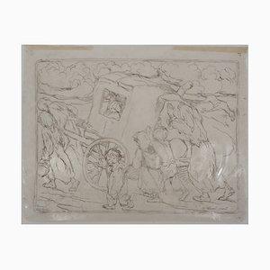 Disegno The Dead Horse di Bernard Naudin