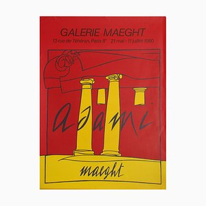 Galérie Maeght Poster by Valerio Adami, 1935