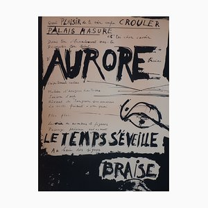 Aurore Poster by Butor and Dufour, 1968