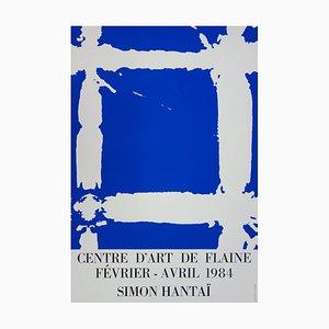 Black and White Tabula Silkscreen Print by Simon Hantaï