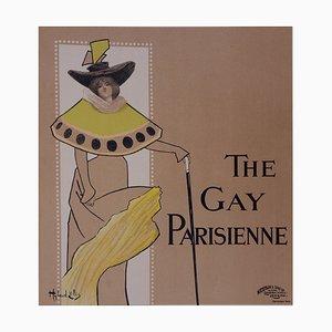 La Parisienne Lithographie von Hyland Ellis, 1897
