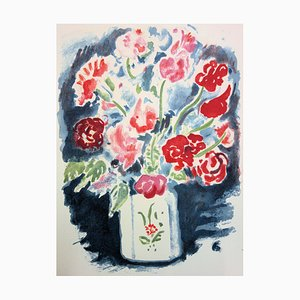 Bouquet of Flowers Lithograph by Kees van Dongen