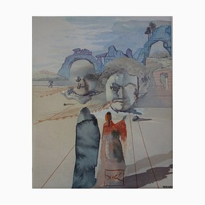 Salvador DALI (after) - Greed and Prodigality, signed screenprint - 490 copies