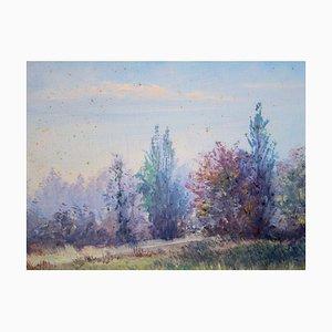 Dipinto a olio Petit Chemin en Campagne di Gaston Coppens