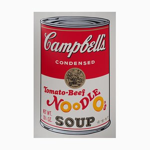 Andy WARHOL (after) - Campbell's Soup - Tomato Beef Noodle Soup, silkscreen