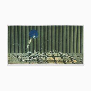 Vie Southerraine Radierung von Hiroshi Asada