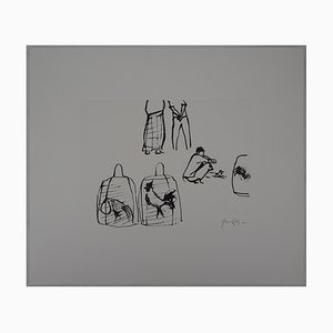 Disegno Bali di Coqs en Cages di René Genis