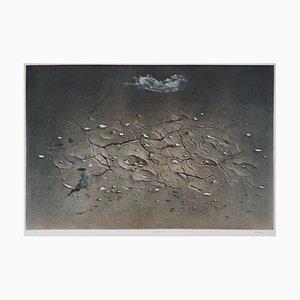 Hiroshi ASADA : Silence - Gravure Originale Signée