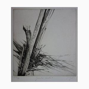 Incisione Géometrie di Nathalie Grall
