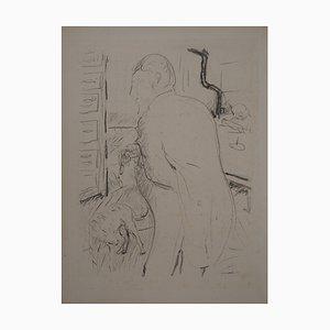 Gentleman and his Lithographie von Pierre Bonnard