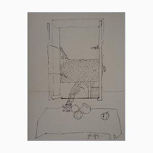 Dibujo Melons et Bottes d'oignons de René Genis