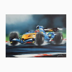 Formule 1 (2) Lithograph by Victor Spahn