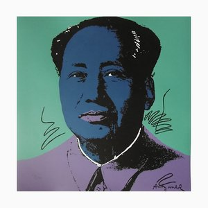 Mao Zedong Lithograph Reprint by Andy Warhol