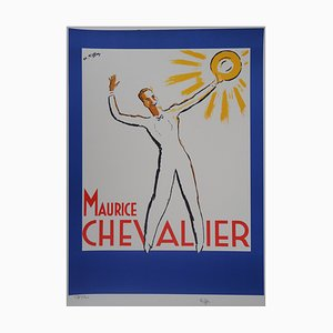 Maurice Chevalier au Soleil Lithograph by Charles Kiffer