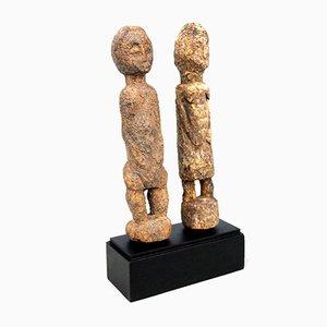 Ivory Coast - Baoule, Bo Usu Couple on base