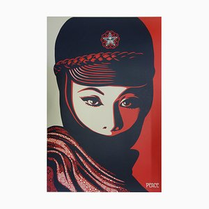 Femme Fatale Lithograph by Shepard Fairey