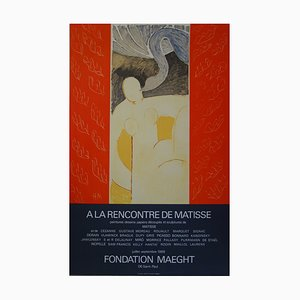 Leda and the Swan Lithografie Reprint von Henri Matisse, 1969
