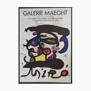 Drawings Lithographic Posters by Joan Miró, 1971