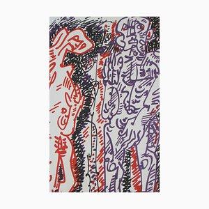 Oaristys Lithografie von André Masson, 1972