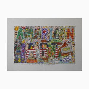 American Art 1997 2D Lithograph by James Rizzi