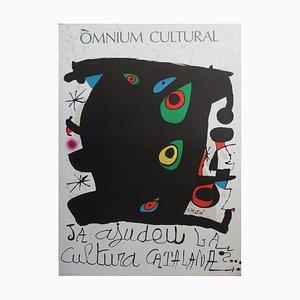 Cultura Catalana Lithograph by Joan Miró, 1968