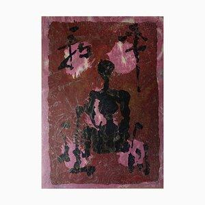 LEE Hang Sung : Dans la Paix de la Méditation - Lithographie originale Signée (1983)