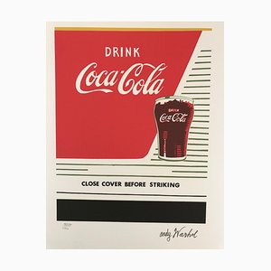 Coca-Cola Lithograph by Andy Warhol, 1986
