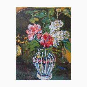 Bouquet of Flowers Lithograph by Suzanne Valadon