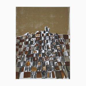 Ville Espagnole Lithograph by Maria Helena Vieira da Silva, 1966