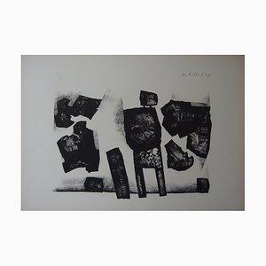Standing Man Lithograph by Witold Leszek Kaczanowski